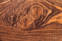 Wood surface. Real brushed brown wood surface Stock Photo