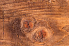 Wood surface. Real brushed brown wood surface Royalty Free Stock Photos