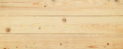 Wood surface of unpainted board. Stock Image