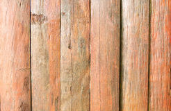Wood surfaces. Walls made ​​of solid wood brown. A background Royalty Free Stock Photography
