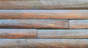 Wood surfaces. Walls made ​​of solid wood brown. A background Stock Photography