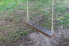 Wood swings Royalty Free Stock Images