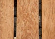 Wood tabellbakgrund i lodlinje Arkivbild