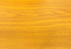 Wood Table with Dark Brown Surface Stock Photography