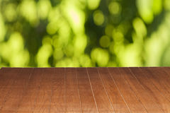 Wood table Stock Photo