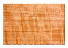 wood tablet Royalty Free Stock Photos