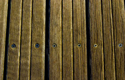 Wood tablets in the dock Stock Photos