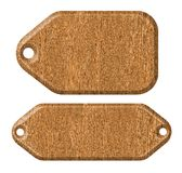 Wood tag Royalty Free Stock Photography