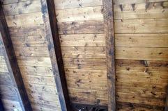 Wood tak Royaltyfria Bilder