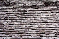 Wood taklägga arkivfoto