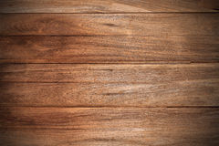 Wood  teak background  texture wallpaper vignette Royalty Free Stock Photo