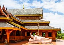 Wood temple Stock Photos