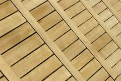 Wood terrace Royalty Free Stock Photo