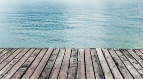 Wood terrace Stock Photo