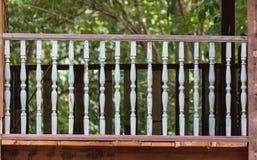wood terrace Royalty Free Stock Image