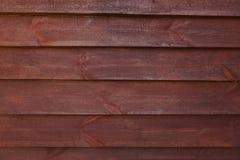 Wood textur av sidingen Arkivfoton