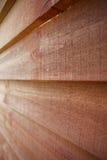 Wood textur av sidingen Royaltyfri Fotografi