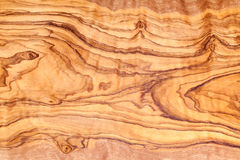 Wood textur för olivträd Royaltyfria Bilder