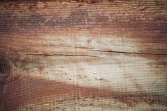 Wood textur i bruna signaler Gammal lantlig trävägg, detaljerad bakgrund för plankastaketfoto Royaltyfri Bild