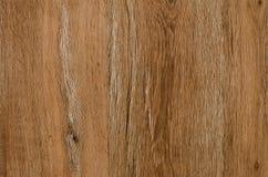 Wood textur med sprickabrunt Royaltyfria Bilder