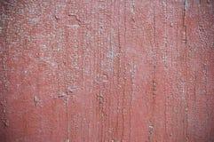 Wood textur med sprucken målarfärg Arkivbild