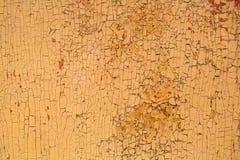 Wood textur - skalningsmålarfärg på gammalt trälantligt material på väggen Abstrakt begrepp Royaltyfri Foto