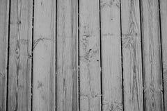 Wood textur, vit träbakgrund, tappning Grey Timber Plank Wall Royaltyfria Foton