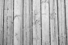 Wood textur, vit träbakgrund, tappning Grey Timber Plank Wall Royaltyfri Foto