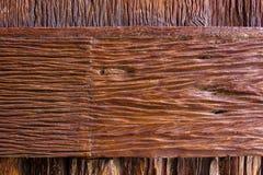 Wood textur, Wood yttersida gammala paneler för bakgrund Arkivfoton