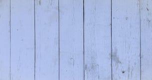 Wood texturbakgrund, blåa wood plankor Grunge tvättade den wood väggmodellen Arkivbild