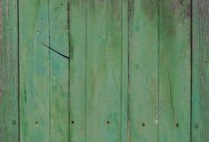 Wood texturbakgrund för grön pastale Royaltyfria Foton