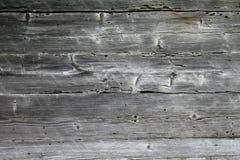 Wood texturbakgrund från gammalt ridit ut landshus Arkivbilder