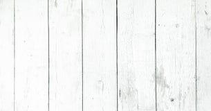 Wood texturbakgrund, vita wood plankor Grunge tvättade den wood väggmodellen Royaltyfri Foto