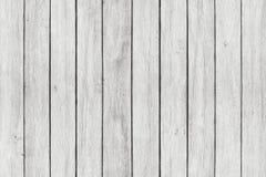 Wood texturbakgrund, vita wood plankor Grunge tvättade träväggmodellen Arkivfoton