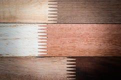 Wood texturbakgrundsmodell Royaltyfri Bild
