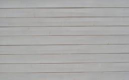 Wood texturbakgrundsvit Arkivfoto