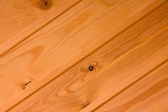 Wood texture. A diagomal wood planks background Stock Photos