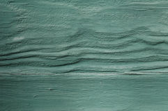 Wood with texture. In green tones Royalty Free Stock Photography