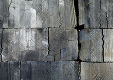 Wood Texture. The texture of wood beams Royalty Free Stock Image