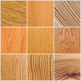 Wood Texture. Mixture of textures of different wood patterns Royalty Free Stock Photography