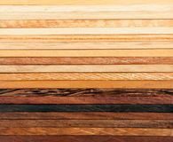 Wood texture. Different wooden colors and textures Stock Images