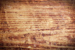 Wood texture. The old scratched wood, texture Stock Photos