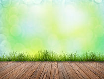Wood texture. D backgrounds in a room interior Royalty Free Stock Photo