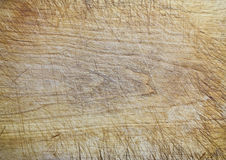 Wood texture. Old wooden cutting board background texture Royalty Free Stock Photography