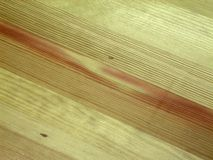 Wood texture. With red defect Royalty Free Stock Photos