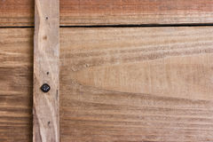 Wood texture. Close up image of a wooden box ready to be used as a texture Stock Image