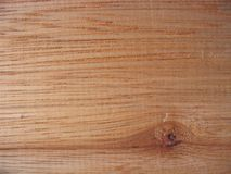 Wood Texture. Lines, shapes and texture on a wooden plank royalty free stock photo
