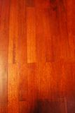 Wood texture. A piece of mahogany parquet Stock Photography