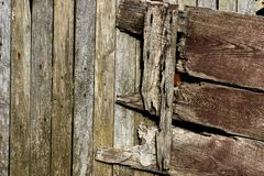 Wood texture. Old wood texture stock photography