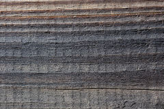 Wood texture. Texture of an old wooden board with cracks - macro Royalty Free Stock Images
